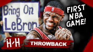 LeBron James First NBA Game, Full Highlights vs Kings (2003.10.29) - MUST WATCH Debut! HD