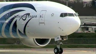 Над Средиземным морем исчез с экранов радаров египетский самолет, который следовал рейсом из Парижа.
