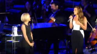 Kristin Chenoweth & Lea Michele - For Good ( w/ L.A  Phil) (Hollywood Bowl, Los Angeles CA 6/21/14)