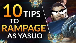 10 SIMPLE TIPS To Go YASUO GOD   Combos, Tricks And Matchups | LoL Guide (Challenger)