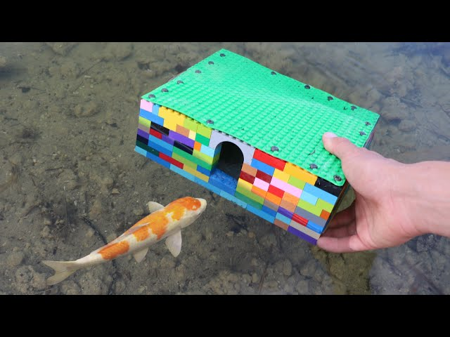 LEGO FLEX SEAL FISH TRAP! DIY