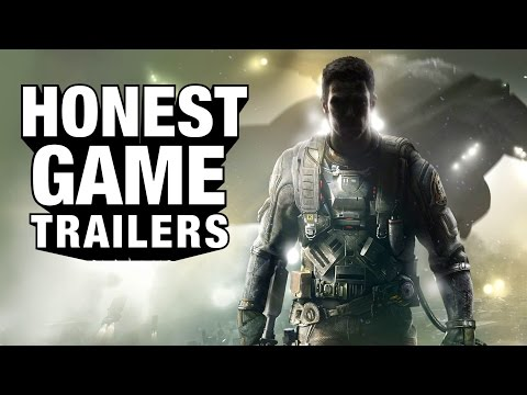 Call Of Duty Infinite Warfare, Space Sniped By Honest Trailers