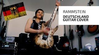 Rammstein - Deutschland Guitar Cover [4K / MULTICAMERA]