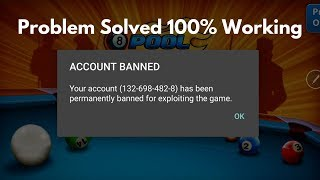 How to unblock permanently ban account in 8 ball pool ( 100% Working) 2017