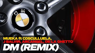 DM REMIX - Mueka ft. Cosculluela, J Balvin, Arcangel, De La Ghetto [Video Lyric]