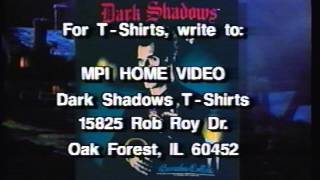 Opening & Closing to Dark Shadows (1991 Series) E2 1993 VHS