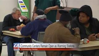 Carver Community Center Remains Open as Warming Center