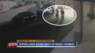 Surveillance video shows night where teen was killed in apparent attempted robbery