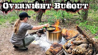 Putting My Bugout Survival Gear to the Test Overnight!