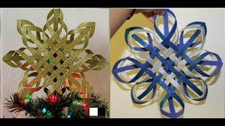 Christmas Tree Topper🌟Making/Unique Idea For Christmas And New Year Decorations