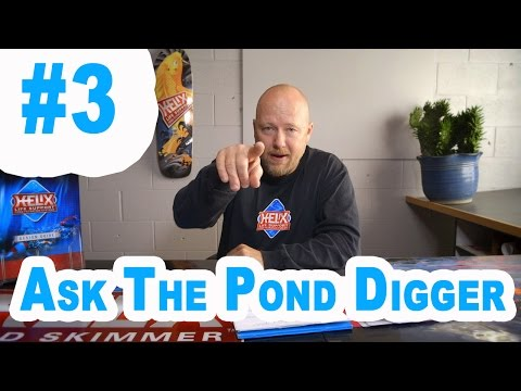 Waterfall Filters, Pond Liner,Pond Pumps - Ask T.P.D. Show #3