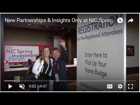 New Partnerships & Insights Only at NIC Spring Forum!