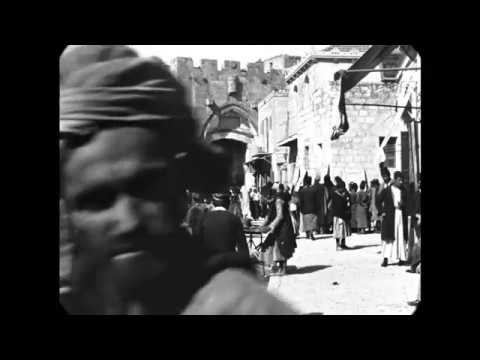 Astonishingly high quality movie footage from 1897 - Jaffa Gate in Jerusalem