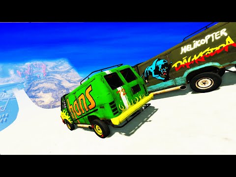 Epic High Speed Jumps #58 – BeamNG Drive  CrashTherapy