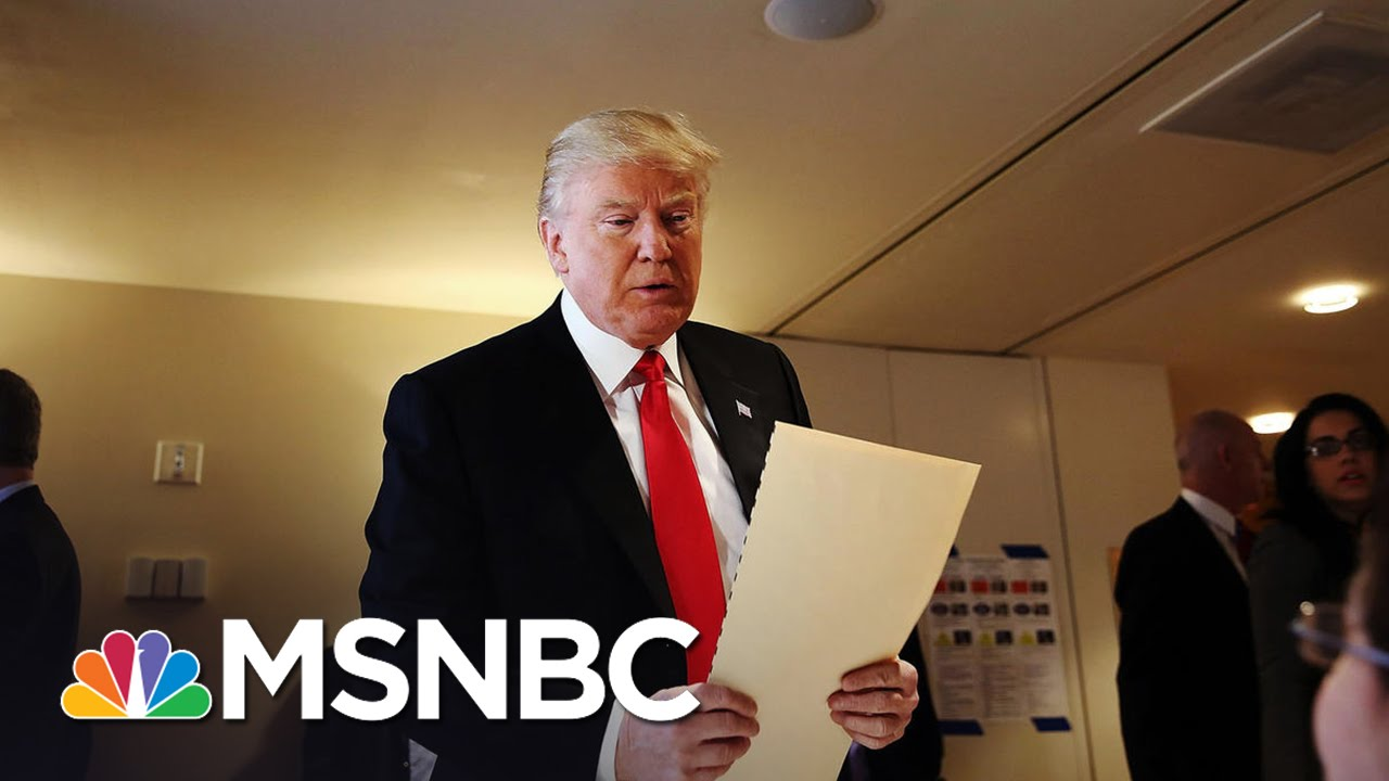 Donald Trump's Campaign Promises More Polished, Poised, Presidential Trump | MSNBC thumbnail