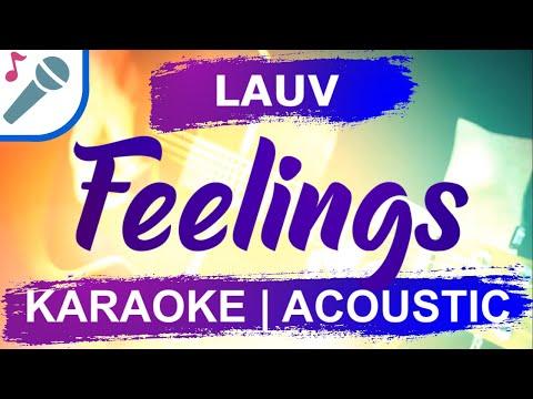 Download Lauv - Feelings - Karaoke Instrumental (Acoustic) Mp4 HD Video and MP3