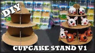 DIY:  Cupcake Stand V1 (Cardboard)