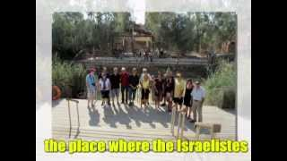 preview picture of video 'Qasr Al-Yahud - Jesus Baptismal Site with Zahi Shaked 9.9.2011'
