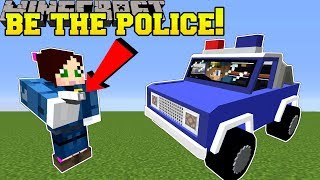 Minecraft: WE BECOME POLICE OFFICERS!! - POLICE TRAINING ACADEMY - Modded Map