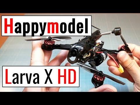 Happymodel Larva X HD from Banggood, Unboxing & Testflight