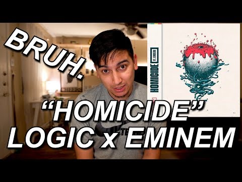 HOMICIDE REACTION!! | LOGIC FT EMINEM | THE GOAT BODIES AGAIN