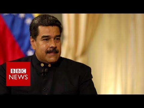 Venezuela crisis: Maduro condemns 'extremist' Trump - BBC News