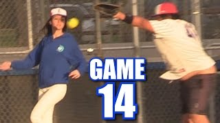 SCARY MOMENT! | On-Season Softball League | Game 14