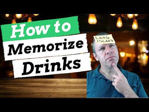 The Ultimate Guide to Memorizing Cocktails - The Triple Imprint Method