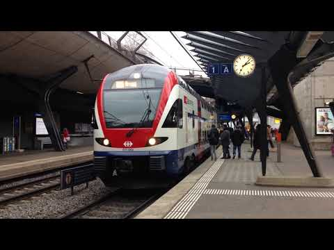 S-Bahn Zürich Züge in Zürich Stadelhofen