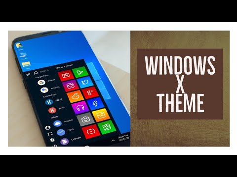 Windows X Theme For Android | Tutorial | How To Download in Android
