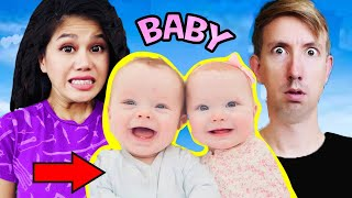 (OVER!) VY QWAINT HAS A BABY😱 HACKER UNMASKED by CHAD WILD CLAY & STEPHEN SHARER PROJECT ZORGO CWC
