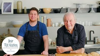 How To Sharpen Your Knife Skills With Jacques Pepin  | Dear Test Kitchen