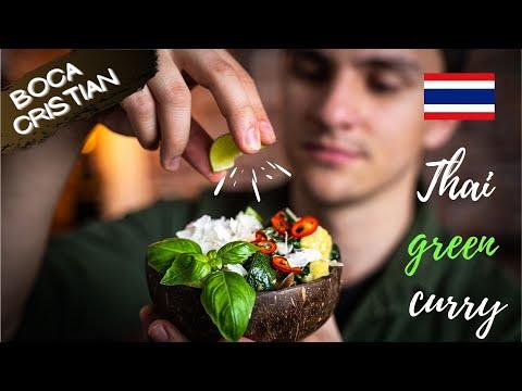 0 Curry tailandez de pui verde