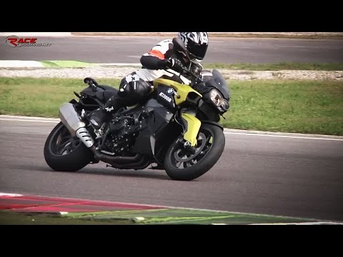 BMW K1300R - Test on track + Onboard