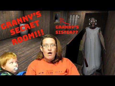 Granny Horror Game! Secret Room Discovered!