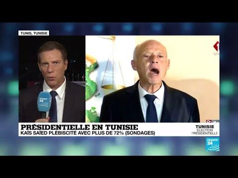 """Présidentielle en Tunisie : """"Peu aurait parié sur une victoire de Kaïs Saïed il y a 1 mois"""""""