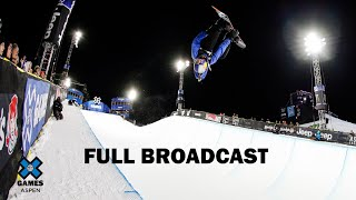 Women's Snowboard SuperPipe: FULL BROADCAST | X Games Aspen 2020