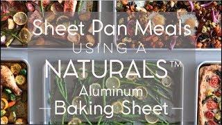 Naturals® Baker's Half Sheet 2 Pack Video