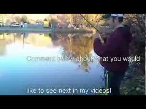 Fall Trout Fishing – Salem Pond – FishingWithAdam