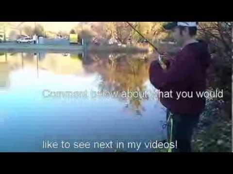 Fall Trout Fishing – Salem Pond – FishingWithAdam