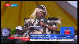 Weekend Prime: ANC Leader Musalia Mudavadi has been hoisted as the Luhya presidential flag bearer