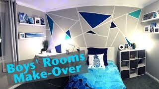 Boy Room Make-over Reveal