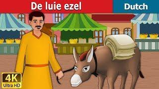 De luie ezel | Lazy Donkey in Dutch | 4K UHD | Dutch Fairy Tales