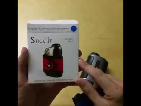 How to use STICK IT magnetic rangefinder accessory strap!