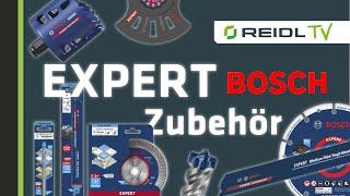 Bosch EXPERT Zubehör - Neue Technologien und Innovationen für DEIN Werkzeug - [German]