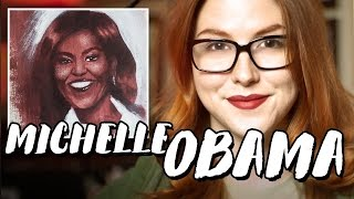 Painting Michelle Obama // Rad Portraits with Beth Be Rad #25 | Snarled