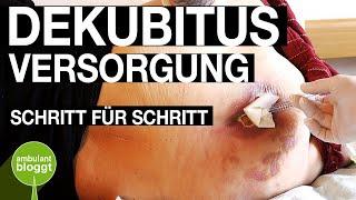 Dekubitus und Z.n. Amputation Versorgung | moderne Wundversorgung | Schritt für Schritt | Charcotfuß