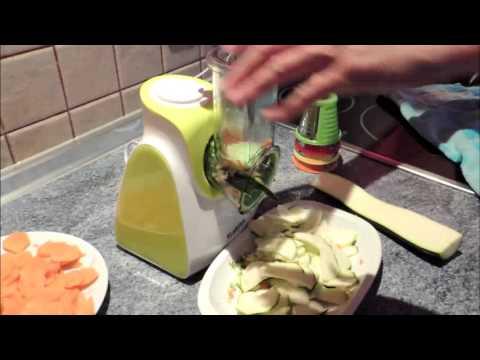Klarstein cortador de verduras eléctrico.