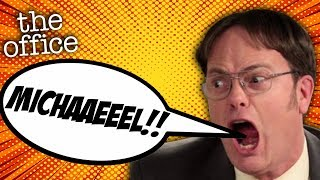 EVERY TIME Dwight Shouts MICHAEL!  - The Office US