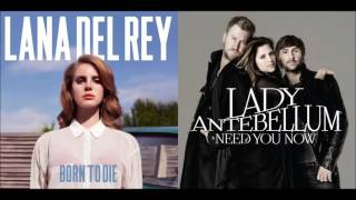 Need The Summertime - Lana Del Rey vs. Lady Antebellum (Mashup)